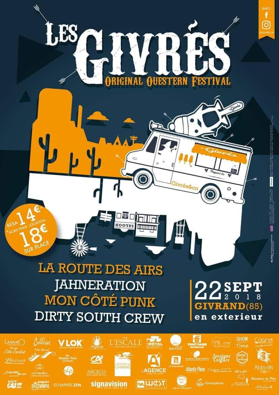 Affiche Festival Les Givrés 2018 - Givrand